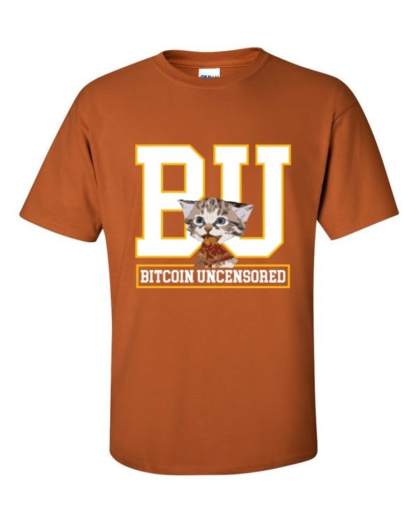 mockup 181f6318 600x750 - Bitcoin Uncensored T Shirt ( White Text )