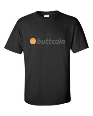mockup 2228c204 300x375 - Buttcoin T Shirt (with Text)