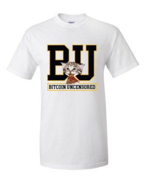 mockup 626dac88 300x375 - Bitcoin Uncensored T Shirt ( Black Text )