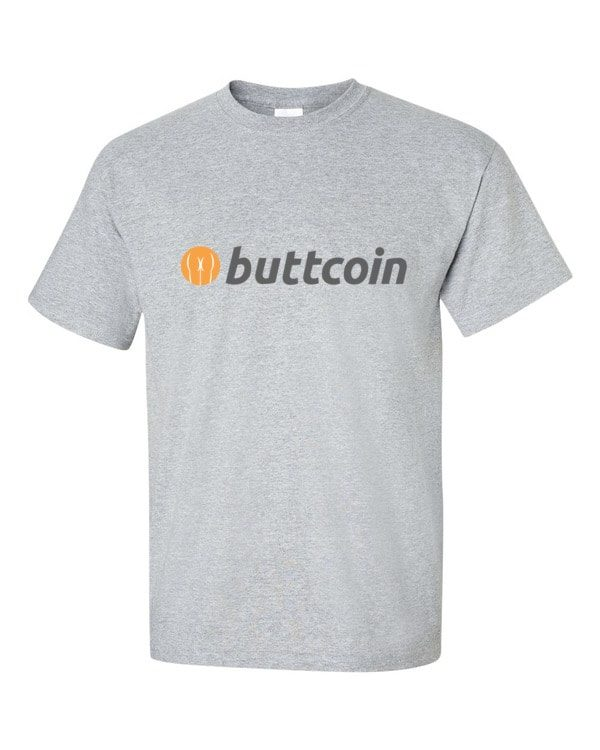 mockup 669aa8c7 600x750 - Buttcoin T Shirt (with Text)