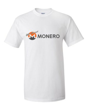 "mockup 74094435 300x375 - ""We Accept Monero"" T Shirt"