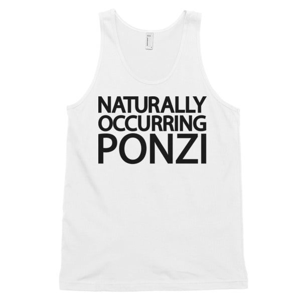 "mockup a3591ef7 600x600 - ""Naturally Occurring Ponzi"" Tank Top ( Black Text )"
