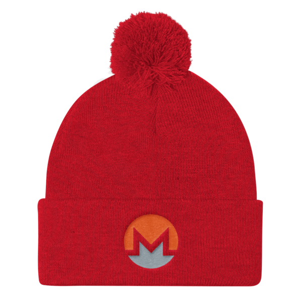 Monero Hat Puff Beanie Monero Apparel