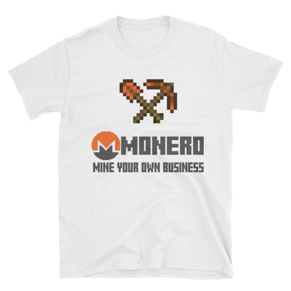 "mockup 31a34871 600x600 - ""Mine Your Own Business"" Monero T Shirt (With Tools)"