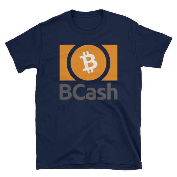 Bitcoin Cash BCash T Shirt Monero Apparel