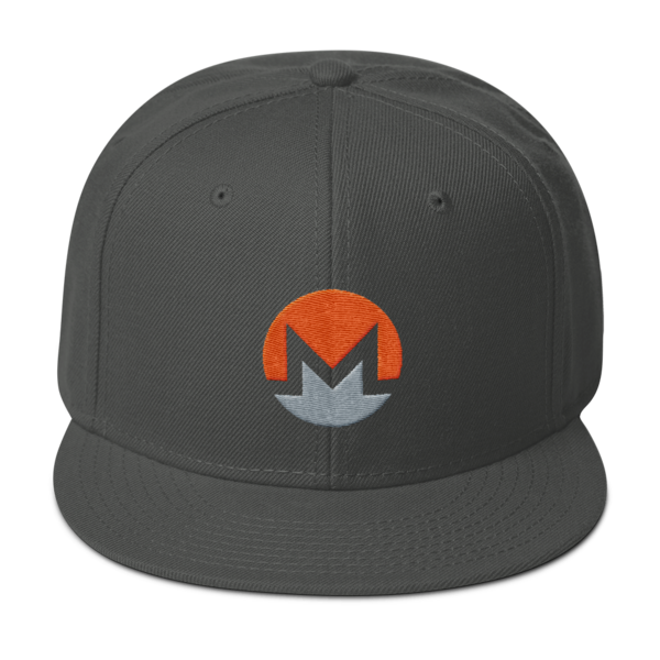 Monero Hat Baseball Cap Monero Apparel