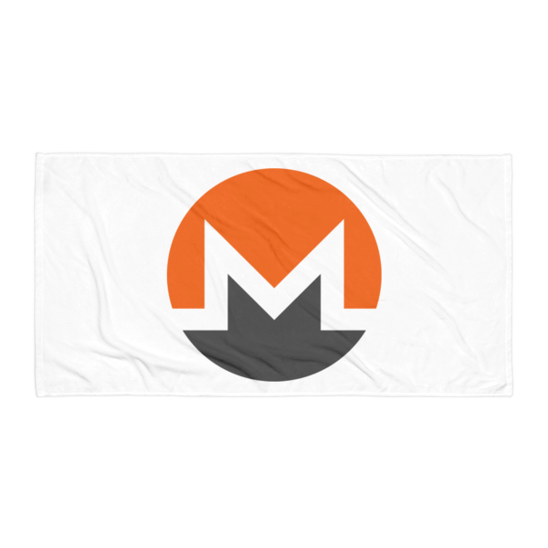 mockup 98125264 600x600 - Monero Towel