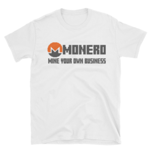 "mockup 99710e7f 300x300 - ""Mine Your Own Business"" Monero T Shirt"