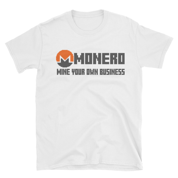 "mockup 99710e7f 600x600 - ""Mine Your Own Business"" Monero T Shirt"