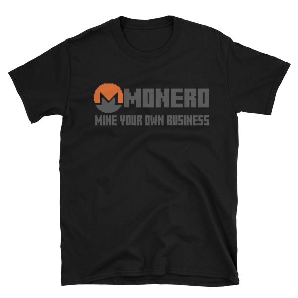 "mockup a79ba557 600x600 - ""Mine Your Own Business"" Monero T Shirt"