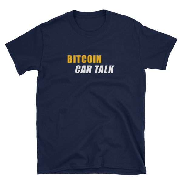 Bitcoin Car Talk T shirt mikeinspace