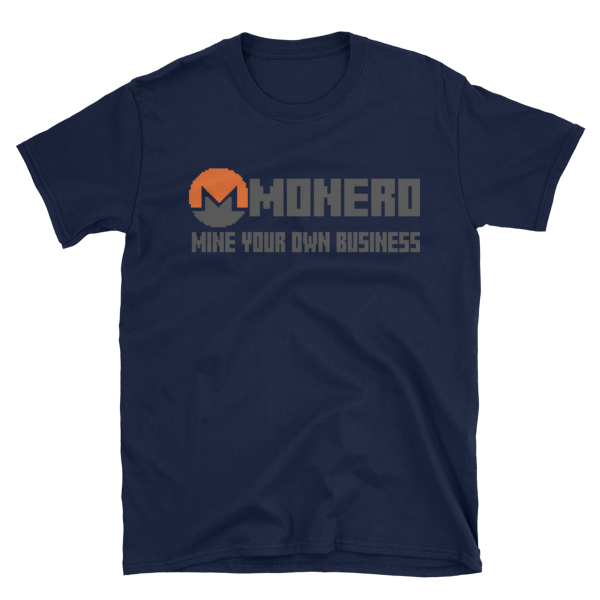"mockup e3946c96 600x600 - ""Mine Your Own Business"" Monero T Shirt"