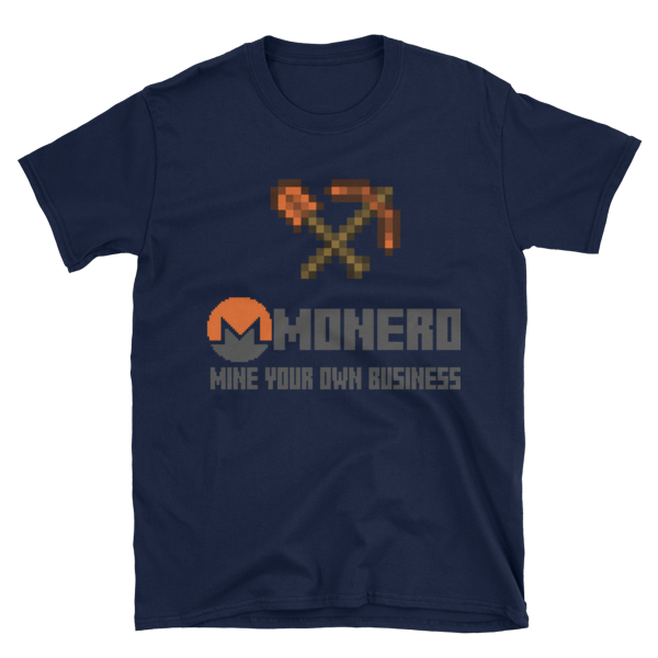 "mockup f0c84174 600x600 - ""Mine Your Own Business"" Monero T Shirt (With Tools)"