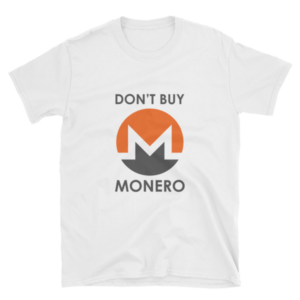 "mockup 54adcf48 300x300 - ""Don't Buy Monero"" T Shirt"