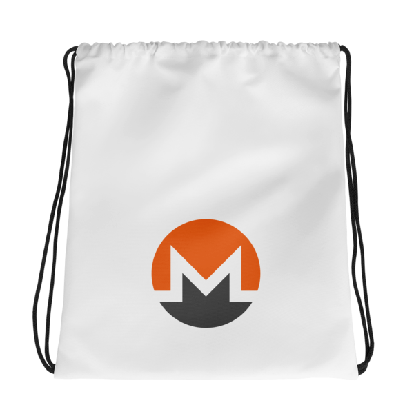 mockup 63cf5d92 600x600 - Drawstring Monero Bag