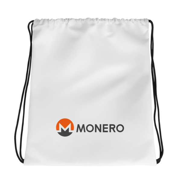 mockup e4db2da8 600x600 - Drawstring Monero Bag