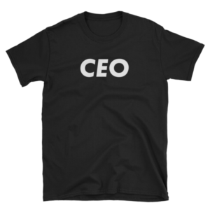 mockup 16c1eabb 300x300 - CEO T-Shirt (White Text)