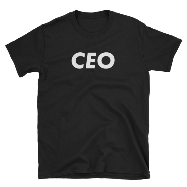 mockup 16c1eabb 600x600 - CEO T-Shirt (White Text)