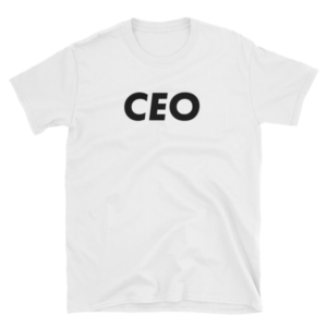 mockup 1a75cb2b 300x300 - CEO T-Shirt (Black Text)