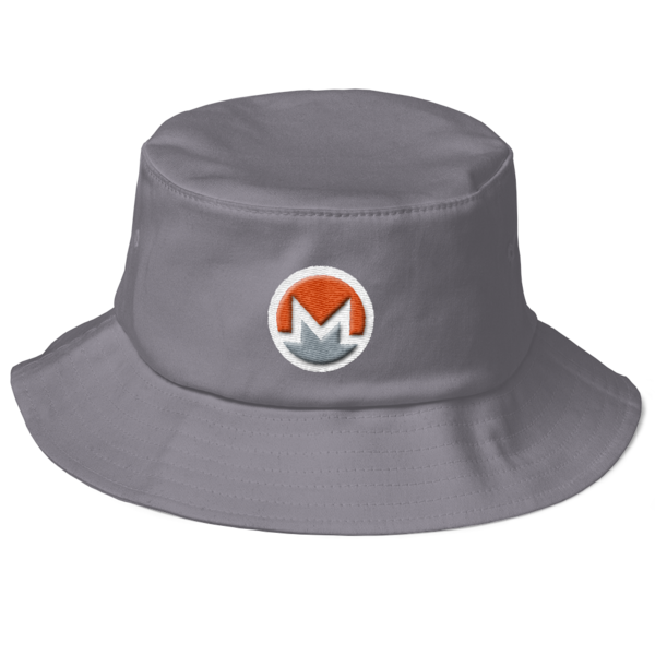 mockup 040425e0 600x600 - Monero Fisherman's Bucket Hat (Logo on White)