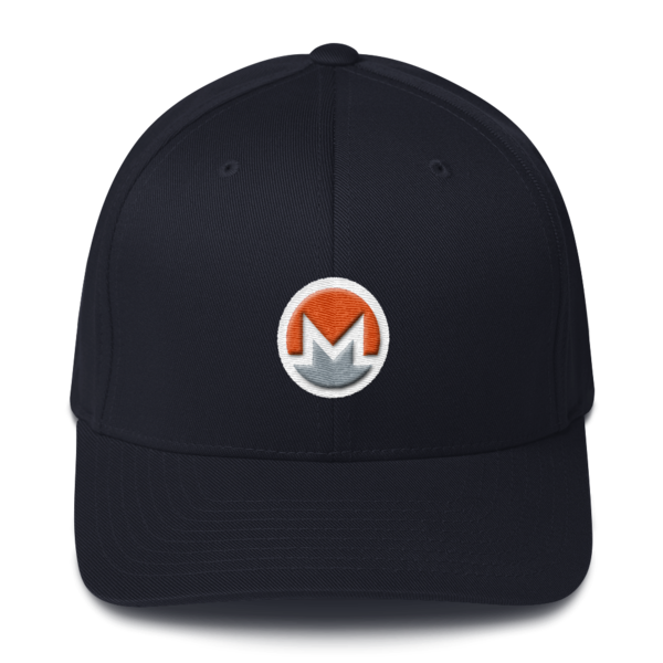 mockup 04d61cc5 600x600 - Flexfit Monero Hat (Logo on White)