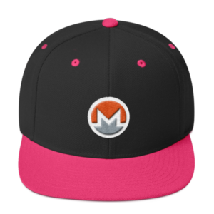 mockup 14f4f995 300x300 - Snapback Monero Hat (Logo on White)