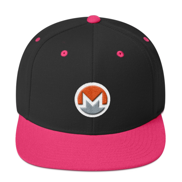 mockup 14f4f995 600x600 - Snapback Monero Hat (Logo on White)