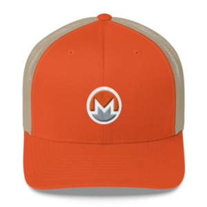 mockup 212e0ca3 300x300 - Monero Trucker Cap (Logo on White)
