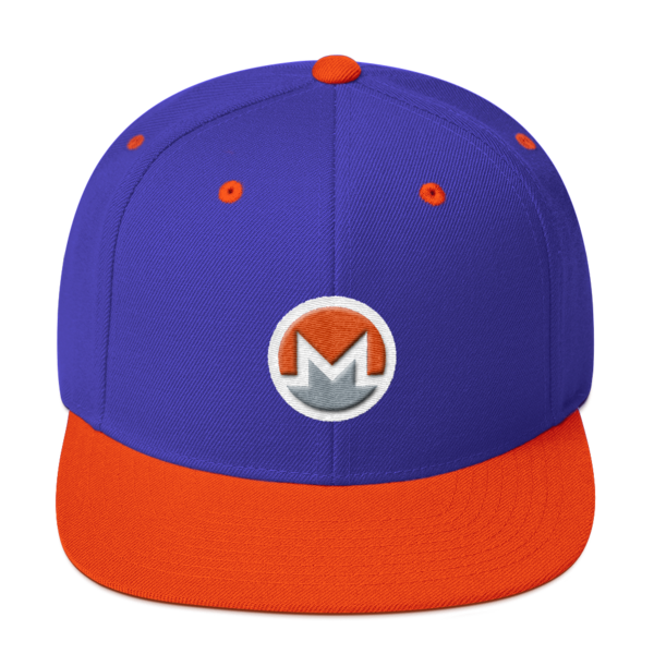 mockup 248b386b 600x600 - Snapback Monero Hat (Logo on White)