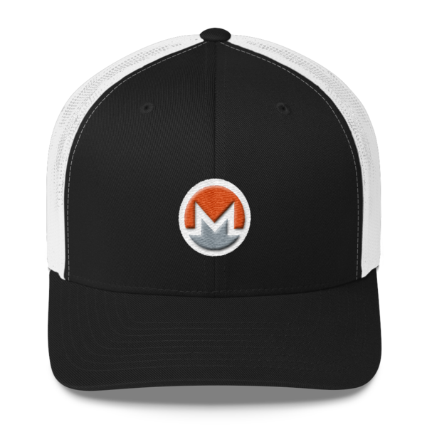 mockup 285b7a2b 600x600 - Monero Trucker Cap (Logo on White)