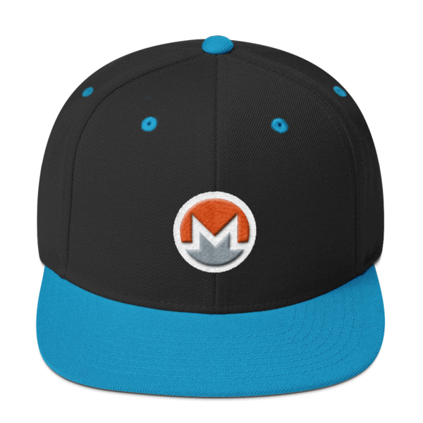 mockup 2ea28880 600x600 - Snapback Monero Hat (Logo on White)