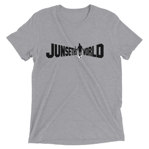 mockup 2f2805bd 600x600 - Official Premium Tri-Blend Junseth's World T-Shirt