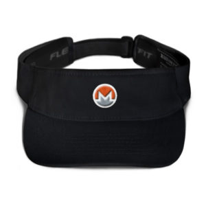 mockup 3035e4f0 300x300 - Monero Poker Visor (Logo on White)