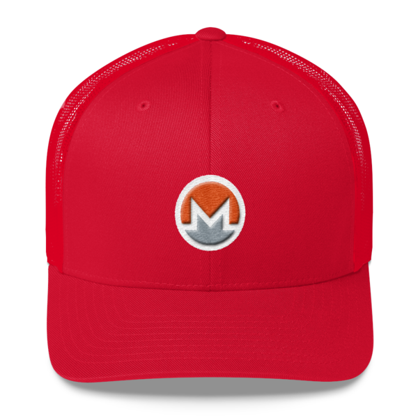 mockup 3488fd99 600x600 - Monero Trucker Cap (Logo on White)
