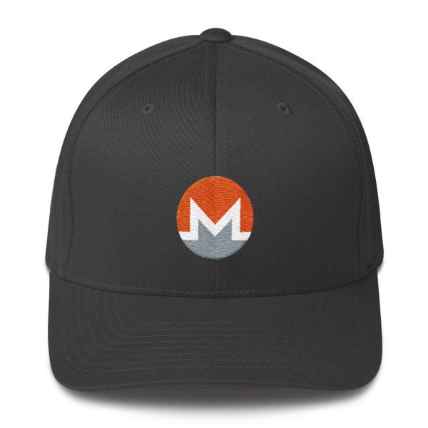 mockup 53ab7b1b 600x600 - Flexfix Monero Hat (White M)