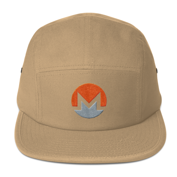 mockup 55b9dbc5 600x600 - Five Panel Monero Cap