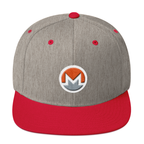 mockup 5947e7cc 600x600 - Snapback Monero Hat (Logo on White)