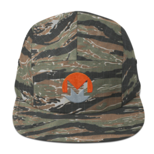 mockup 65a92352 300x300 - Five Panel Monero Cap