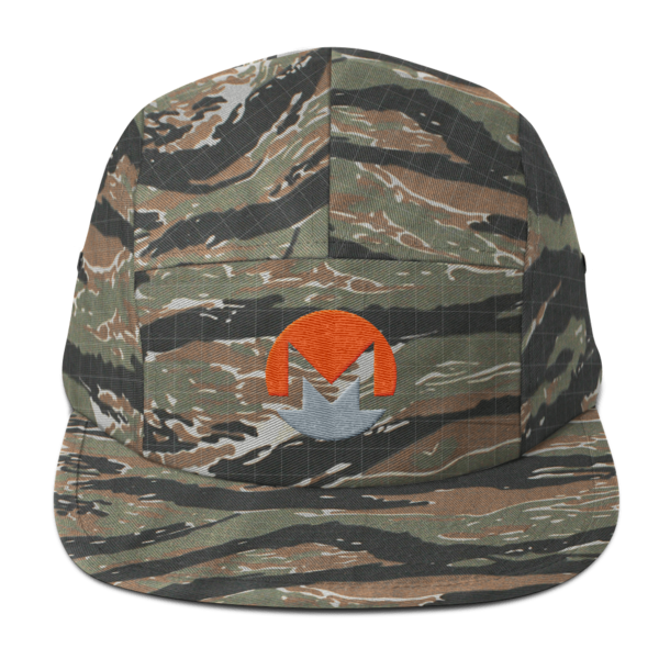 mockup 65a92352 600x600 - Five Panel Monero Cap