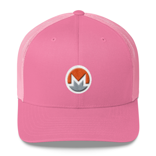 mockup 65c90ccb 600x600 - Monero Trucker Cap (Logo on White)