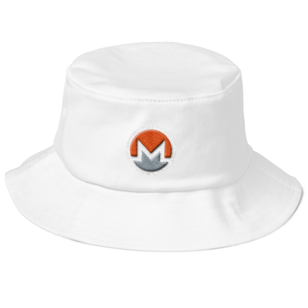 mockup 69a2e06e 600x600 - Monero Fisherman's Bucket Hat (Logo on White)