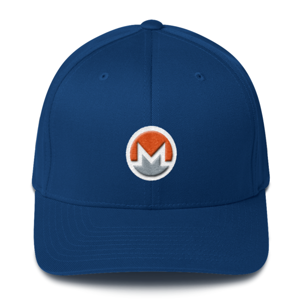 mockup 6c381927 600x600 - Flexfit Monero Hat (Logo on White)