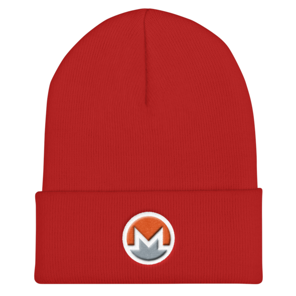 mockup 6c91ebd8 600x600 - OG Monero Beanie (Logo on White)