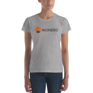 mockup 6e55311f 300x300 - Ladies' Monero T-Shirt (With Text)