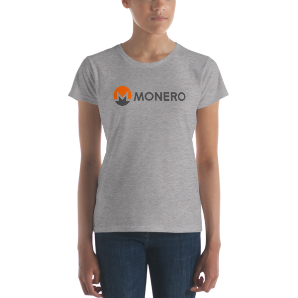 mockup 6e55311f 600x600 - Ladies' Monero T-Shirt (With Text)