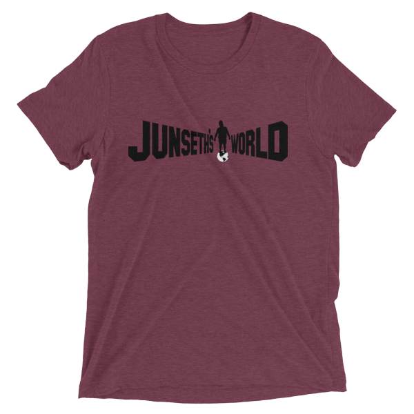 mockup 72fd9e22 600x600 - Official Premium Tri-Blend Junseth's World T-Shirt