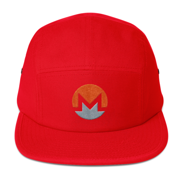 mockup 75986385 600x600 - Five Panel Monero Cap