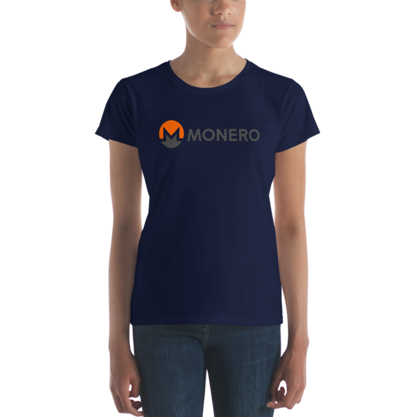 mockup 881ecfba 600x600 - Ladies' Monero T-Shirt (With Text)