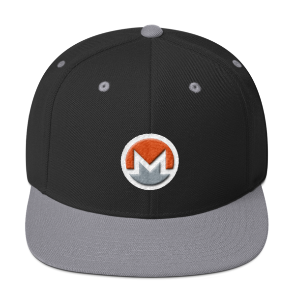 mockup 99d75a31 600x600 - Snapback Monero Hat (Logo on White)