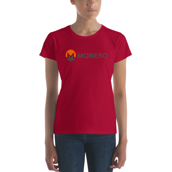 mockup 9bcd36f2 600x600 - Ladies' Monero T-Shirt (With Text)
